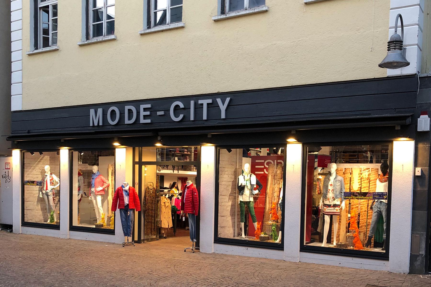 Mode Zahn GmbH - Mode City Biberach, Mode City Bad Waldsee ...